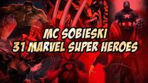 31 superbohaterów w jednej piosence