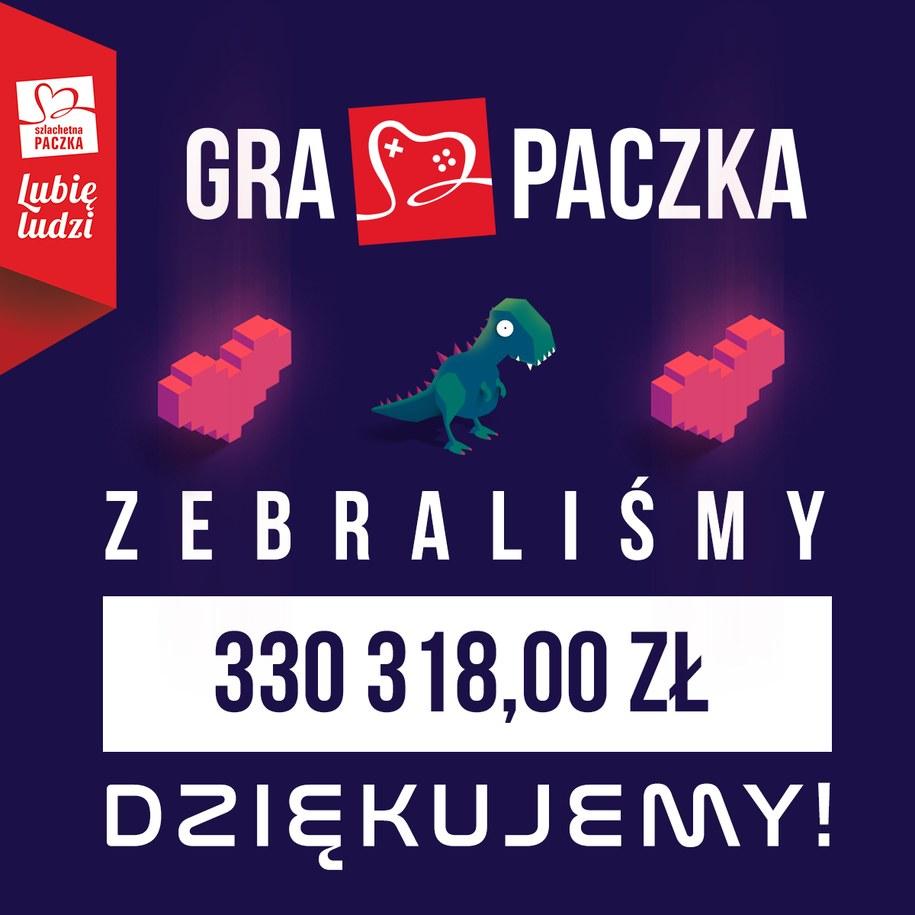 330 tys. złotych dla dzieci wykluczonych cyfrowo – tyle pieniędzy Szlachetna Paczka wraz z partnerami z branży technologicznej i najpopularniejszymi streamerami w Polsce wygrała podczas akcji GRA PACZKA /Szlachetna Paczka /Materiały prasowe