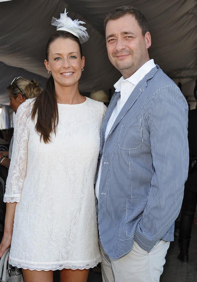 34-letnia Małgorzata jest żoną 43-letniego aktora, Jacka Rozenka /Andras Szilagyi /MWMedia