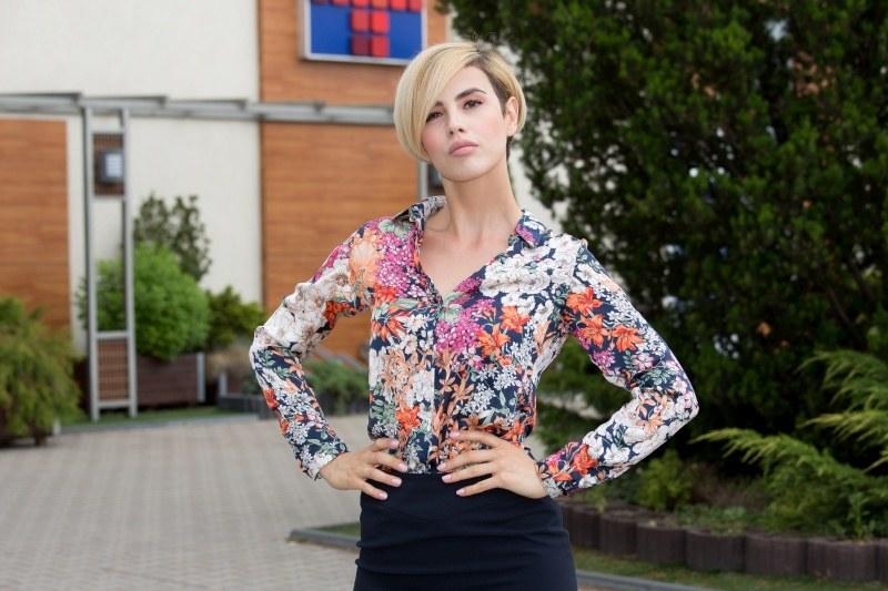 35-letnia Aleksa Wiedeńska uprawia bardzo modny obecnie zawód wedding plannerki /Agencja W. Impact