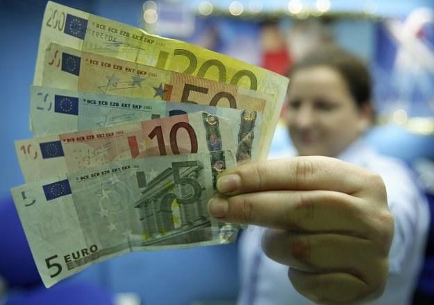 36 proc. Polaków jest zdania, że wprowadzenie euro powinno nastąpić po 2013 roku /AFP