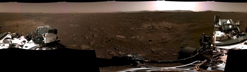 360-stopniowy widok na Marsa z Perseverance /NASA