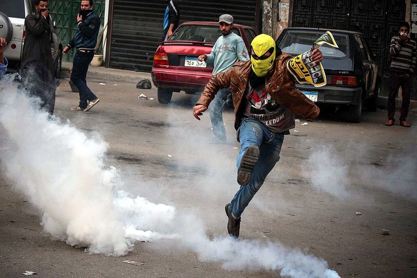 39 z 50 egipskich więźniów, na których zastosowano gaz łzawiący zmarło /Getty Images