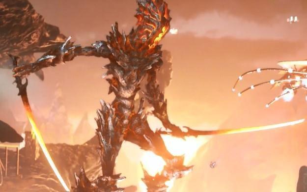 3D Mark: Fire Strike - motyw graficzny /
