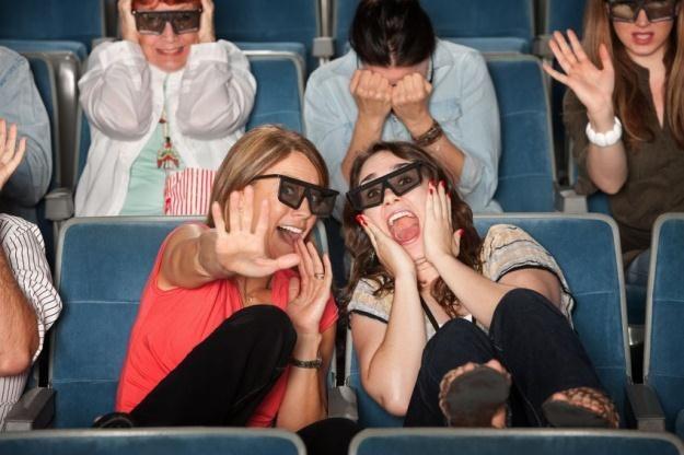 3D nadal robi furorę przede wszystkim w kinie, a nie w domu /123RF/PICSEL