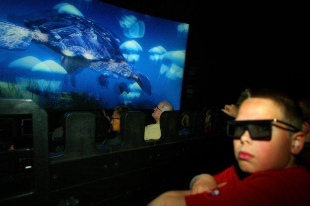 3D - skierowane do dzieci. Ale czy jest dla nich szkodliwe? /AFP