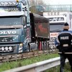 4,5 tys. ciężarówek zablokowało drogi. Z sukcesem