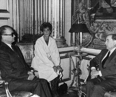 4 grudnia 1985 r. Wojciech Jaruzelski w Paryżu