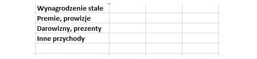 4 kategorie przychodów /INTERIA.PL