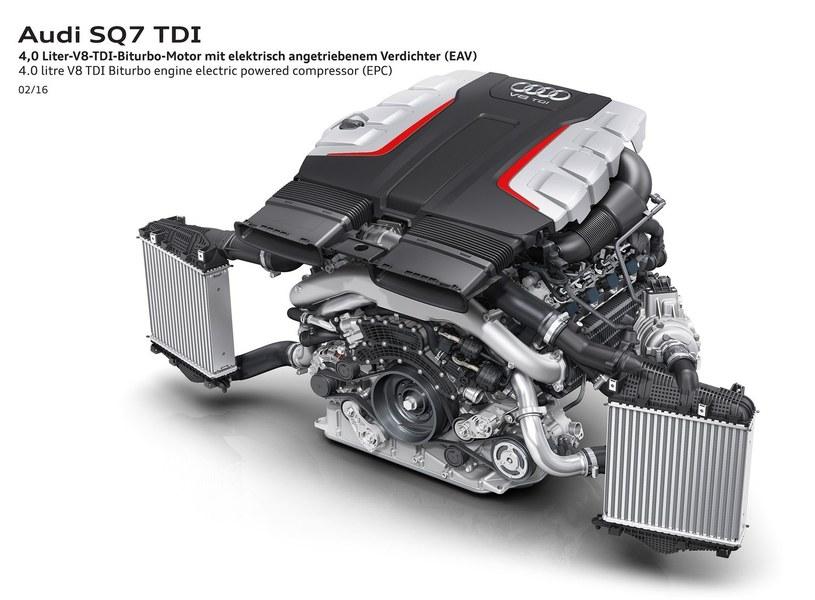 4-litrowy silnik TDI z Audi SQ7 /