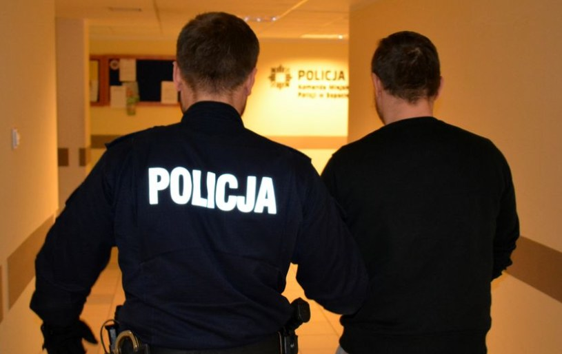 40-latek był poszukiwany /Komenda Miejska Policji w Sopocie /Policja