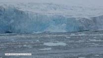 40-metrowa góra lodowa oddzieliła się od lodowca na Antarktydziee