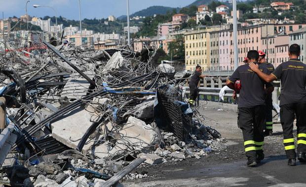 41 ofiar katastrofy w Genui. Pod gruzami znaleziono ciała trzyosobowej rodziny