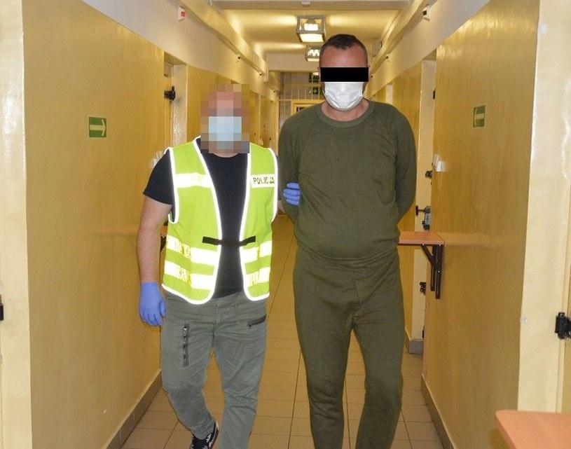 42-latek z Chełma aresztowany /KMP Chełm /materiały prasowe