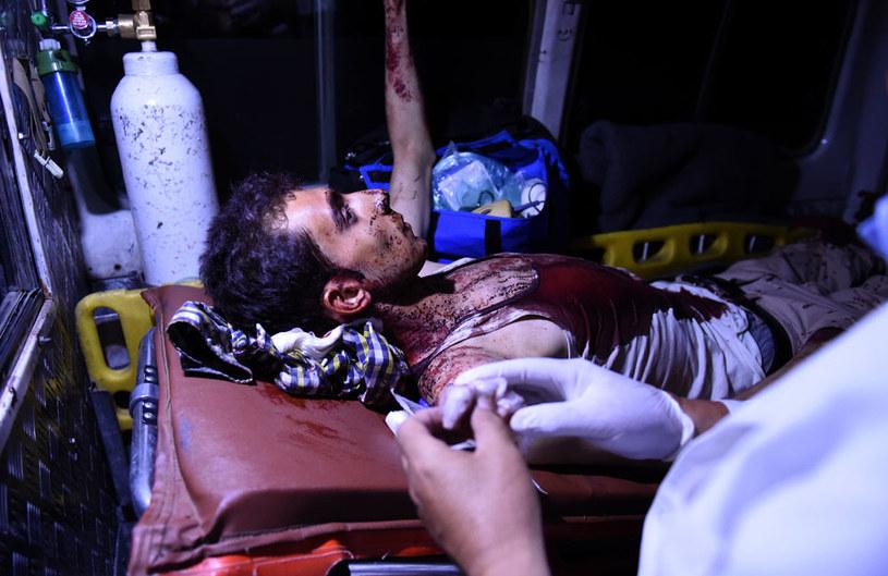 44 osoby zostały ranne, w tym 35 studentów /AFP