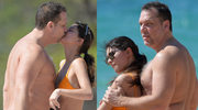 45-letni Dane Cook całuje swoją 19-letnią dziewczynę Kelsi Taylor