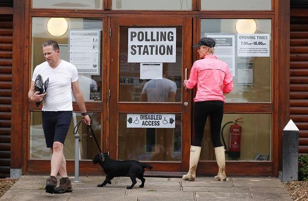 46,5 mln Brytyjczyków może głosować /AFP