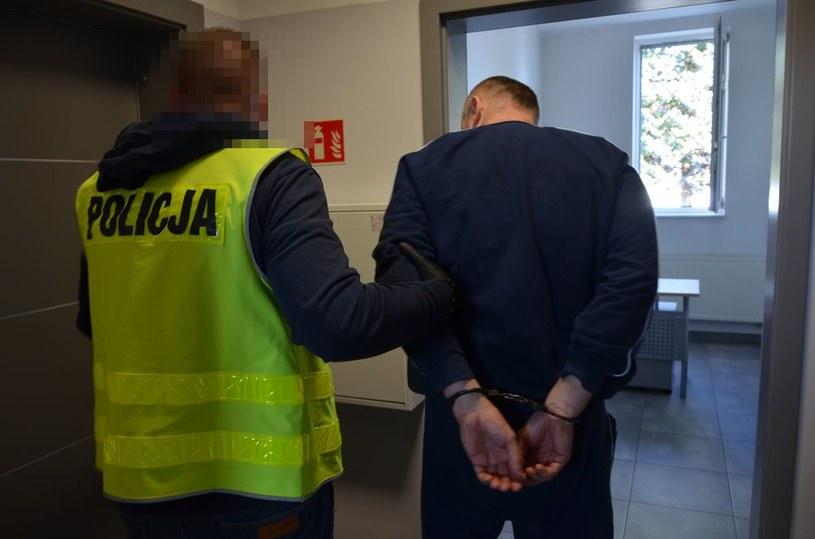 46-latek nie stawiał oporu podczas zatrzymania /Policja
