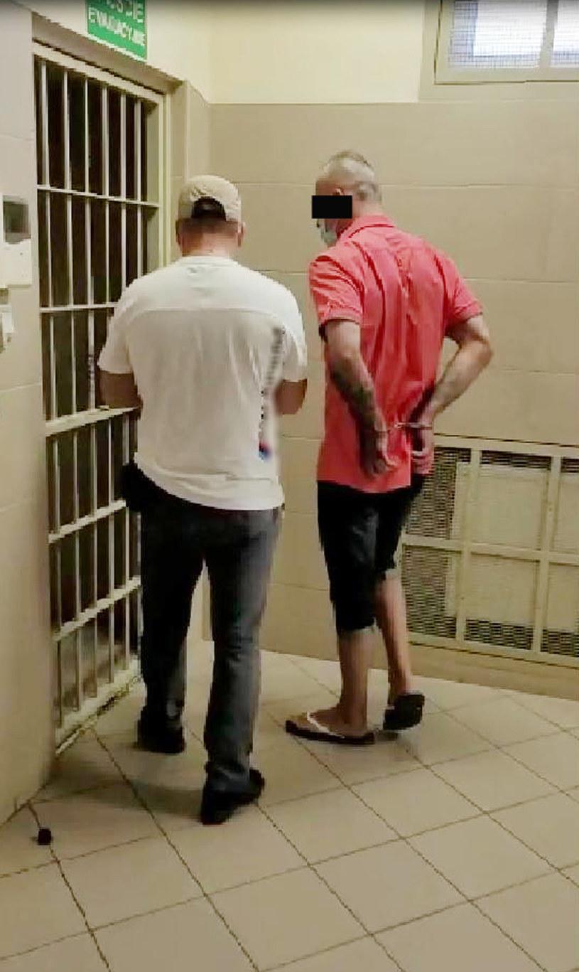 47-latek został zatrzymany /Policja
