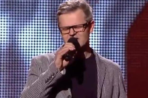 """49-letni Piotr Salata w """"The Voice Of Poland"""" /"""