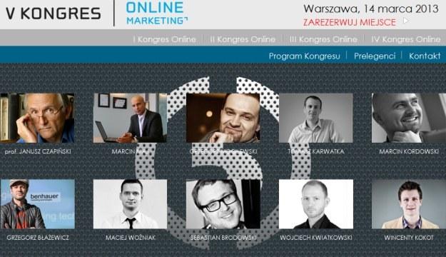 5. Kongres Online Marketing 2013 /materiały prasowe