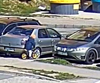5-latek wjechał wprost pod auto. Dramatyczne nagranie