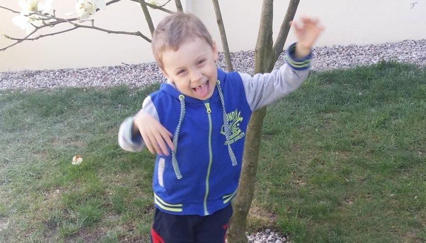 5-letni Dawid Żukowski /Policja
