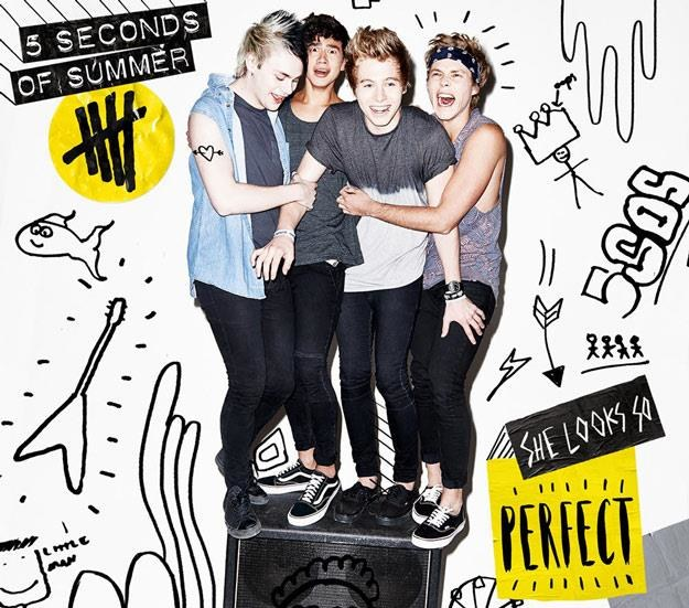 "5 Seconds of Summer na okładce EP-ki ""She Looks So Perfect"" /"