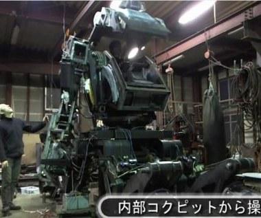 5-tonowy robot sterowany smartfonem i Kinectem