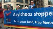 5 tys. osób demonstrowało w Berlinie przeciwko Merkel