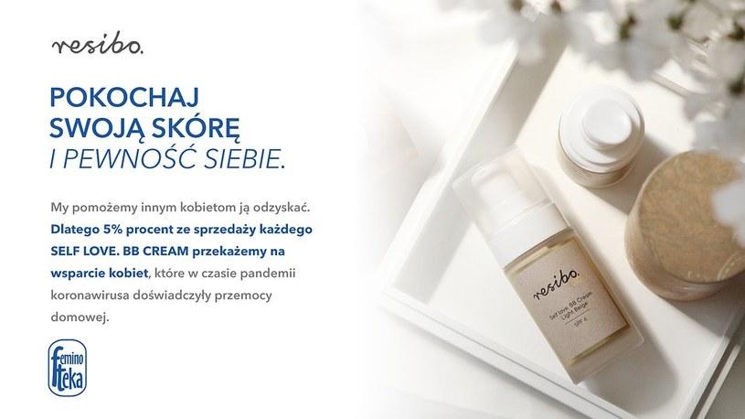 5% ze sprzedaży SELF LOVE. BB CREAM zostanie przekazane na wsparcie kobiet, które w czasie pandemii koronawirusa doświadczyły przemocy domowej /INTERIA.PL/materiały prasowe