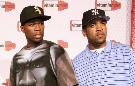 50 Cent i Lloyd Banks fot. Astrid Stawiarz /Getty Images/Flash Press Media