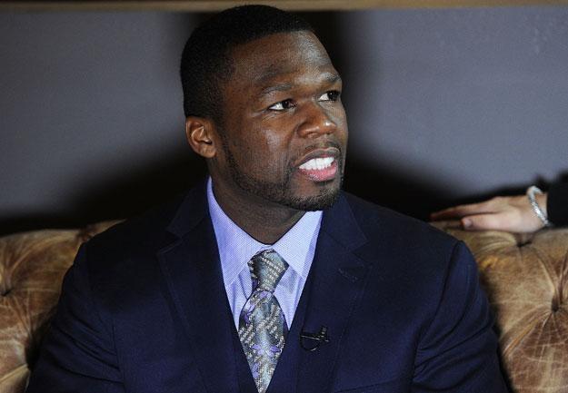 """50 Cent: """"Ten dowcip nie był śmieszny?"""" fot. Michael Buckner /Getty Images/Flash Press Media"""