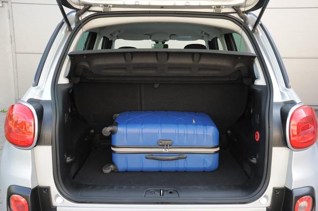 500L bagażnik /Motor