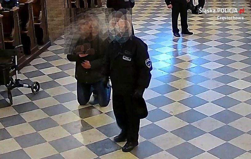 51-latek sam zgłosił się na policję /Śląska policja /Policja