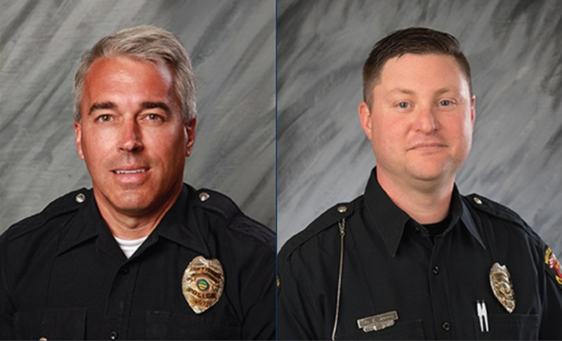 54-letni Anthony Morelli i 39-letni Eric Joerng zostali zastrzeleni /Handout /PAP/EPA