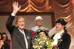 55-lecie pracy artystycznej świętował w ukochanym Teatrze Kwadrat wśród przyjaciół. /fot  /AKPA