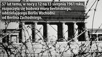 57. rocznica budowy muru berlińskiego