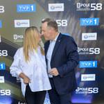 58. KFPP w Opolu 2021: Joanna i Jacek Kurscy całują się na ściance. Poniosło ich?
