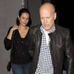 58-letni Bruce Willis ze swoją ciężarną żoną!