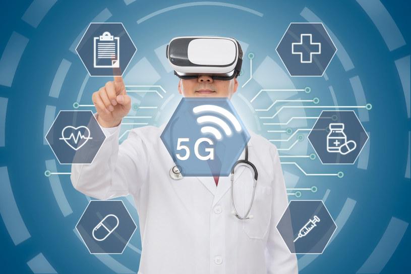 5G będzie kluczowym elementem rozwoju telemedycyny /123RF/PICSEL