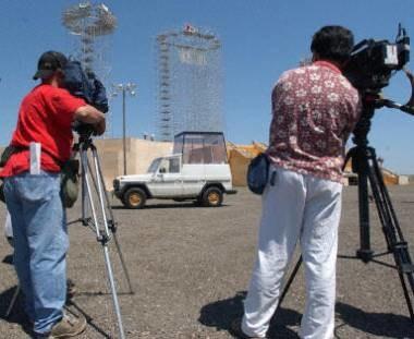 6,5 tysiąca dziennikarzy będzie relacjonować wydarzenia w Kolonii /arch. AFP