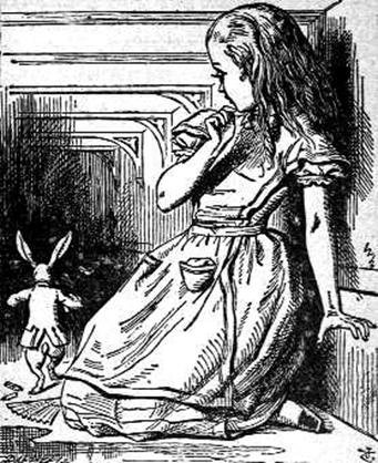6 Alicja, rys. John Tenniel 6 Alicja, rys. John Tenniel /Encyklopedia Internautica