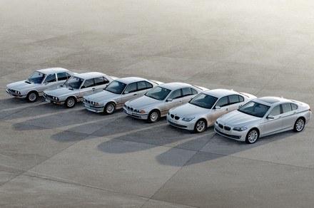 6 generacji BMW serii 5 /