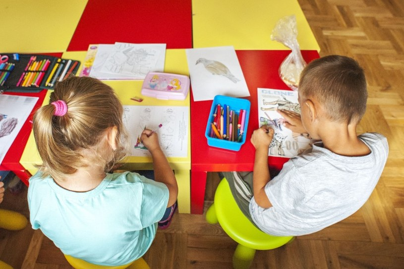 6-latki w szkole /Jakub Wysocki /Reporter
