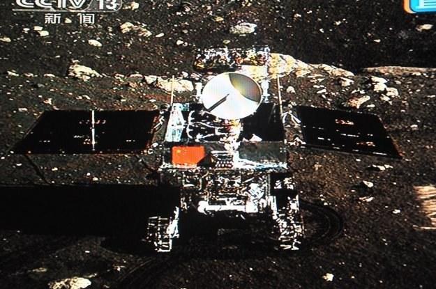 6 z 8 instrumentów naukowych na pokładzie łazika zostało już uruchomionych. /AFP