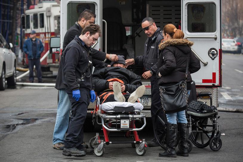 6 zabitych i ponad 60 rannych wskutek wybuchu gazu w Nowym Jorku. /AFP