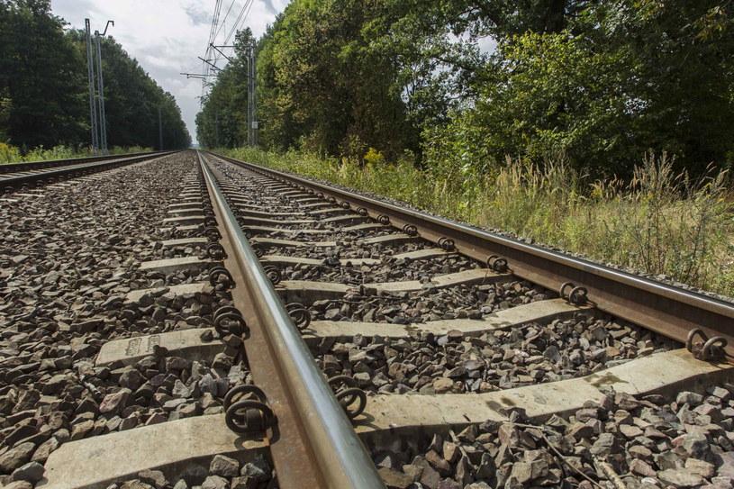 60. kilometr torów kolejowych pomiędzy Wrocławiem a Wałbrzychem /PAP