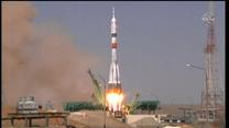 60 lat od pojawienia się Gagarina w kosmosie. Wystartował trzyosobowy lot Sojuza na cześć astronauty
