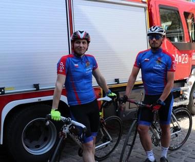 600 kilometrów pokonają na rowerach. Strażacy z Krakowa ruszają do Gdańska